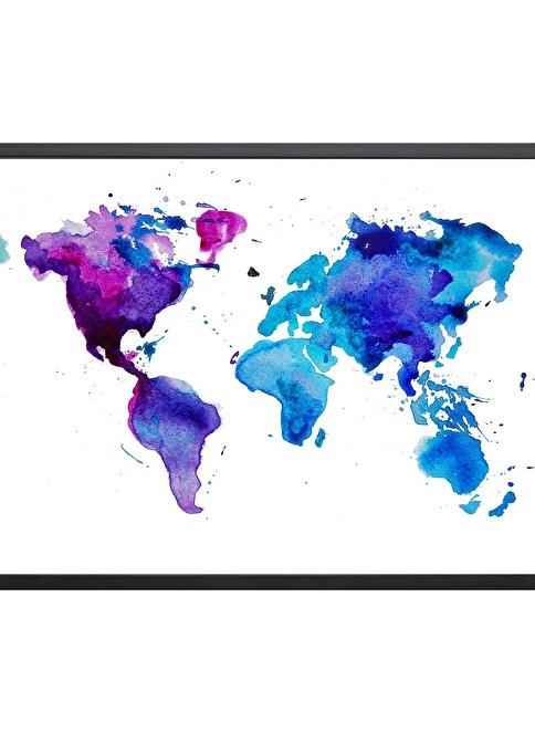 Decarthome Dünya Haritası Renkli